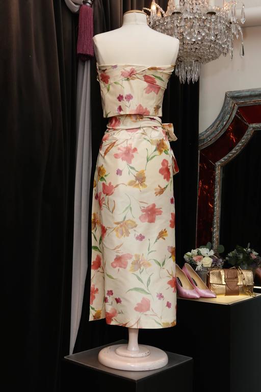 2008 Christian Dior Dress Ensemble in Floral Print 3