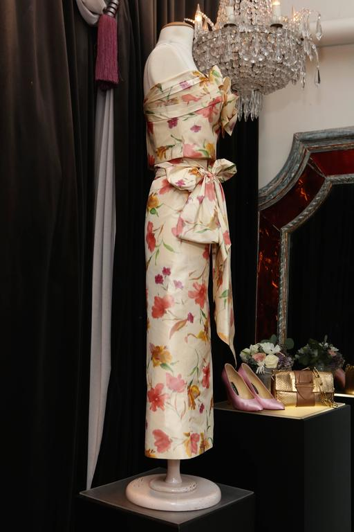 2008 Christian Dior Dress Ensemble in Floral Print 4