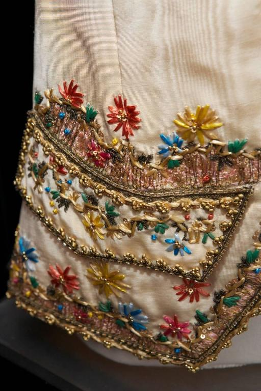 Women's or Men's 1990s Christian Lacroix Haute Couture Embroidered Jacket For Sale