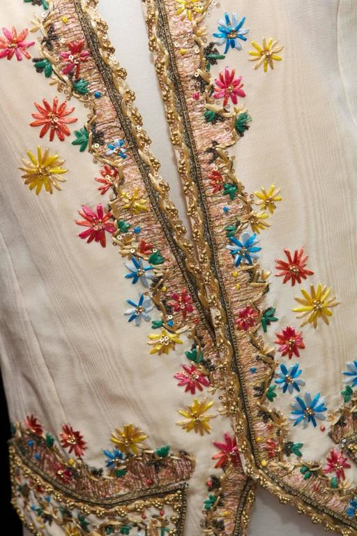 1990s Christian Lacroix Haute Couture Embroidered Jacket For Sale 1