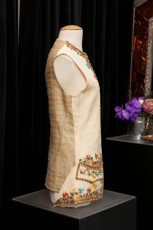 1990s Christian Lacroix Haute Couture Embroidered Jacket In Excellent Condition For Sale In Paris, FR
