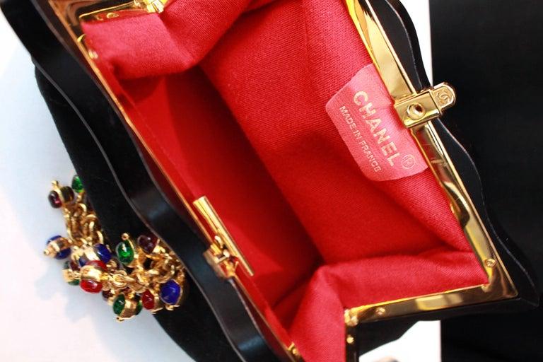 Chanel gorgeous jewel evening bag 8