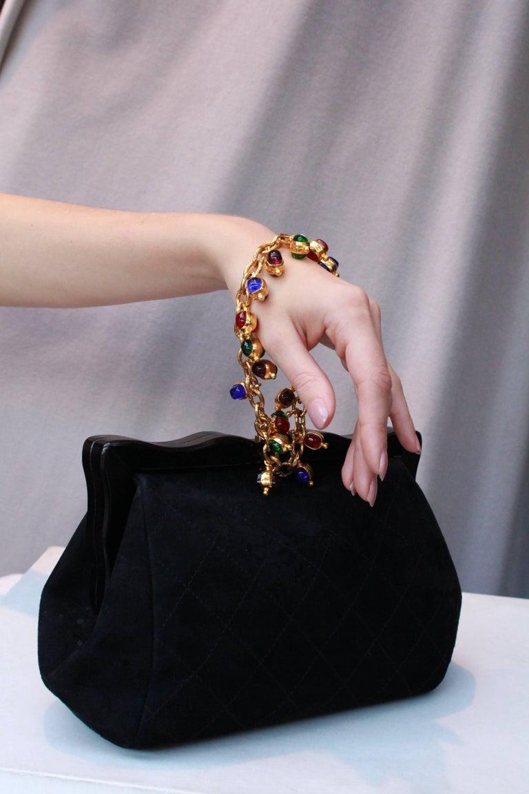 Chanel gorgeous jewel evening bag 7
