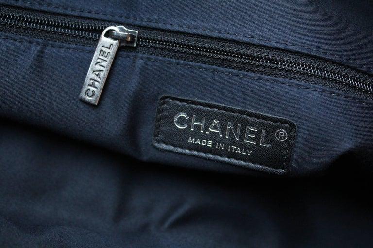 "Chanel ""Girl"" black lambskin bag, Circa 2015  For Sale 5"