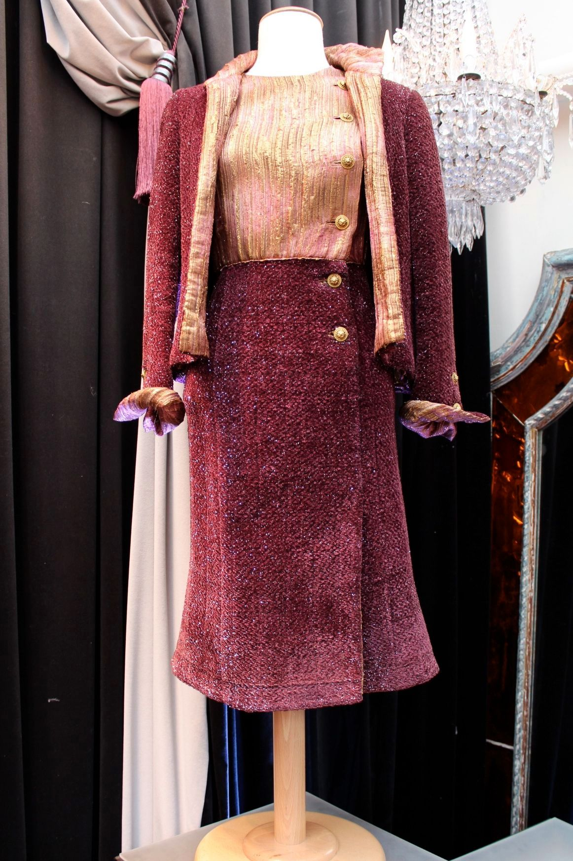 haute couture chanel dress suit 1960s at 1stdibs