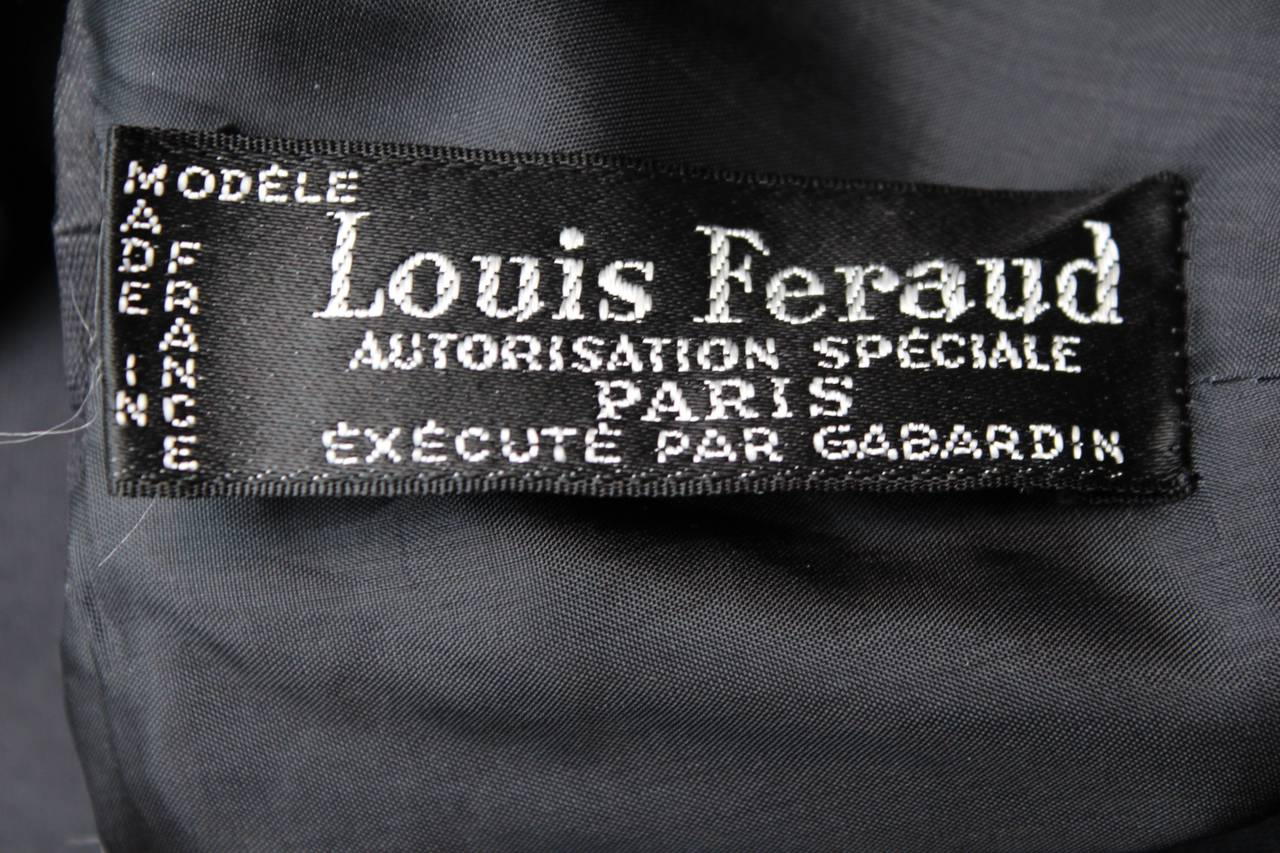 Louis Feraud Black Dress, circa 1960s 9