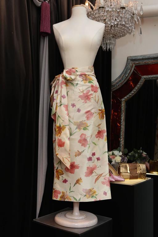 2008 Christian Dior Dress Ensemble in Floral Print 5