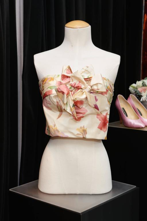 2008 Christian Dior Dress Ensemble in Floral Print 9