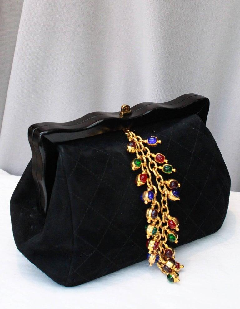 Chanel gorgeous jewel evening bag 2