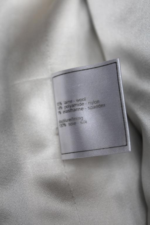2006 Chanel Black and White Duffle Coat 10