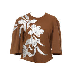 Dries Van Noten Hand-Painted Sweatshirt