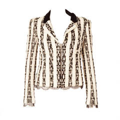 Chanel Lesage Embroidered Jacket with Swarovski Crystals