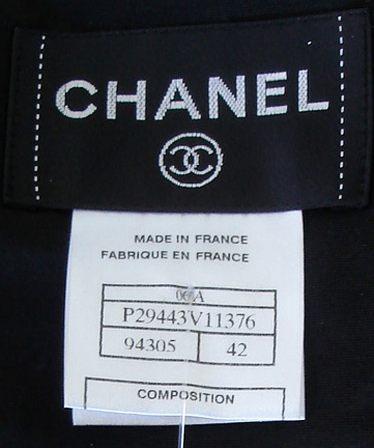 Chanel Runway Finale Jeweled Car Wash Gown Dress NEW  Featured in Introspective For Sale 2