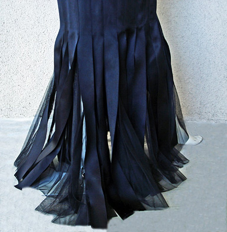 Chanel Runway Finale Jeweled Car Wash Gown Dress NEW  Featured in Introspective For Sale 1
