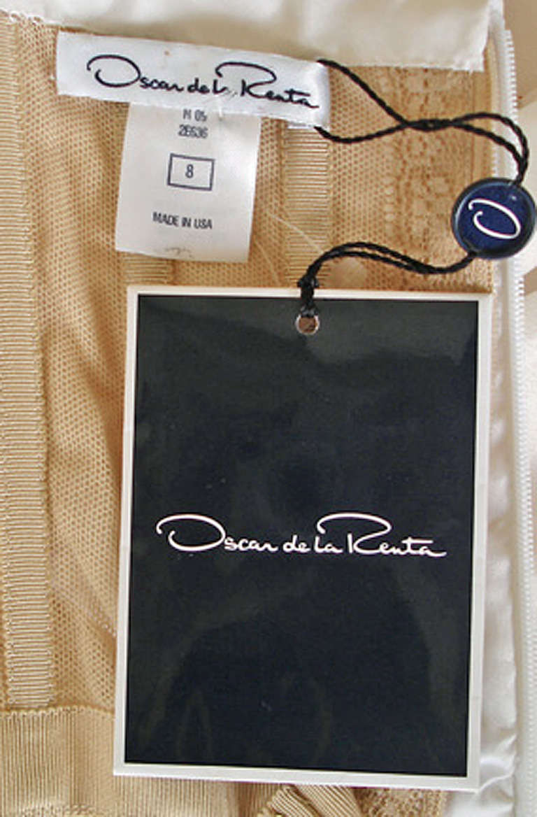 Oscar de la Renta Summer Late Day Evening Party Dress For Sale 2