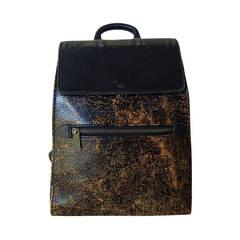 Rare Vintage Jean Paul Gaultier Book Leather Back Pack Handbag