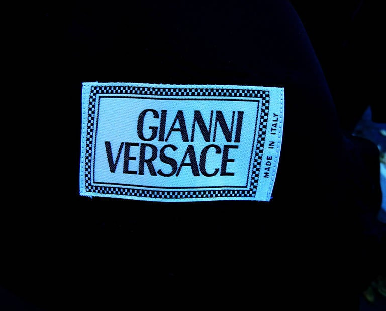 Rare Iconic 1994 Gianni Versace Men's Safety Pin Suit For Sale 6