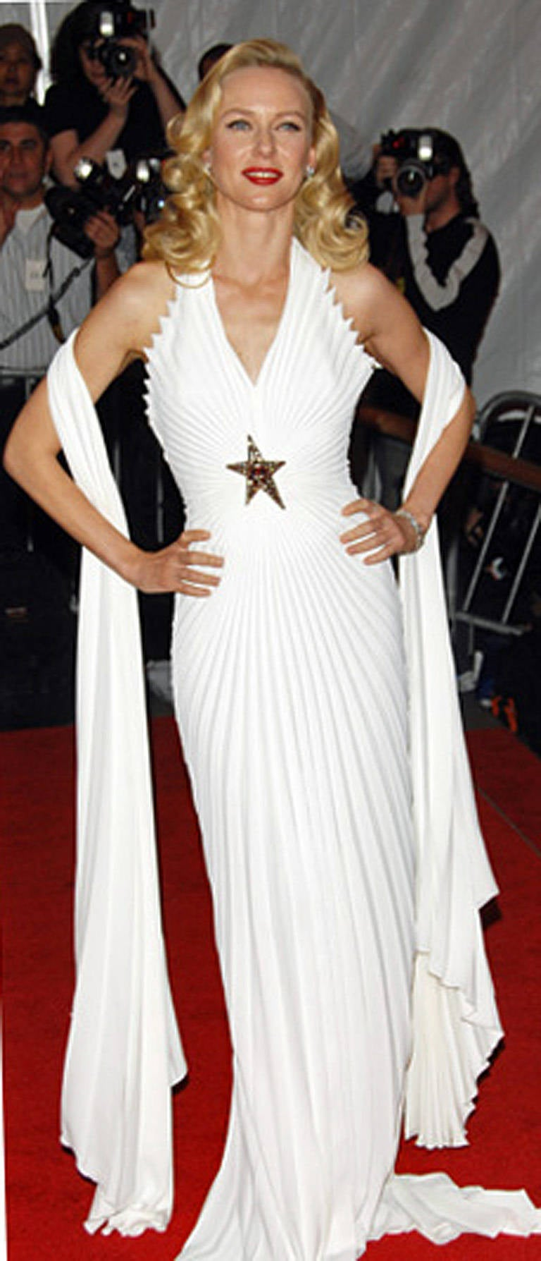 Thierry Mugler Iconic Old Hollywood 1930's Inspired Dress Gown For Sale 2