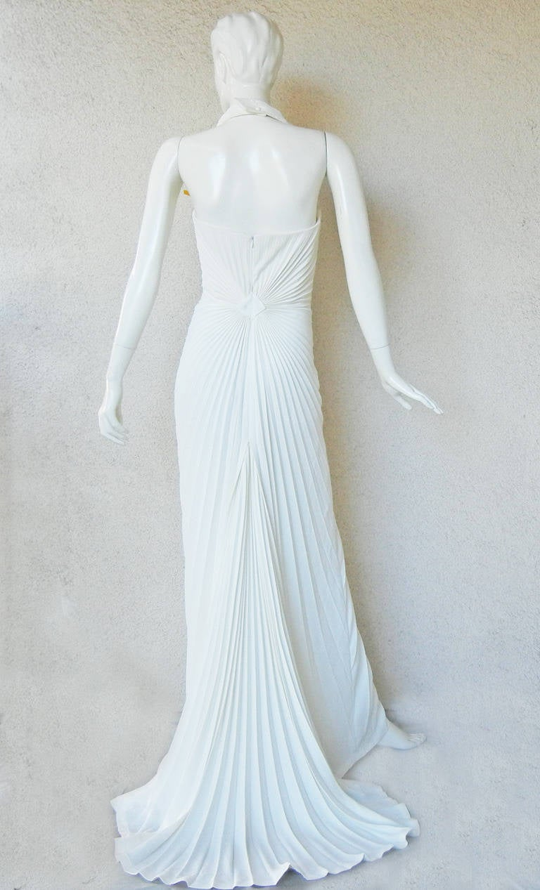 Women's Thierry Mugler Iconic Old Hollywood 1930's Inspired Dress Gown For Sale