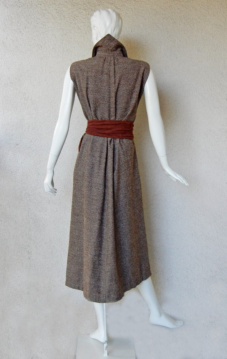 Women's Rare Claire McCardell Monastic Dress with provenance Collectors, Museums For Sale