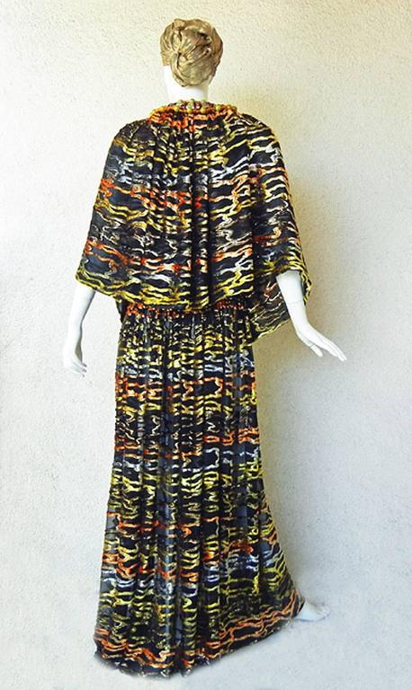 Circa 1970's Paco Rabanne Haute Couture Jeweled Dress Caftan Collectors, Museum 4