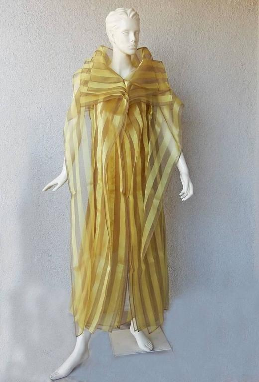 Issey Miyake A/W 2009 Origami Caftan Dress Ensemble 2