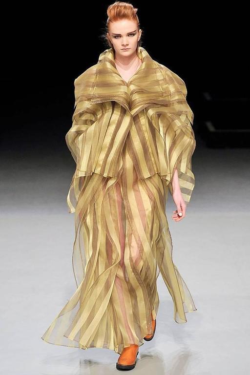 Issey Miyake A/W 2009 Origami Caftan Dress Ensemble 7