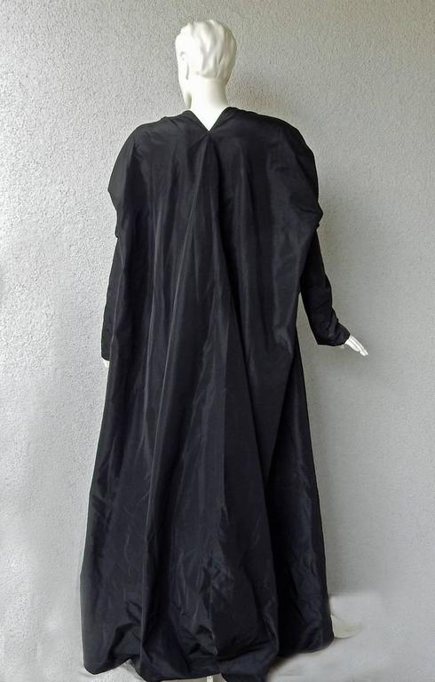 Rare Jean Paul Gaultier Dramatic Gown with Reversible Evening Coat 8