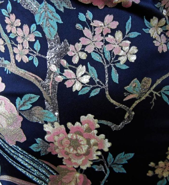 Roberto Cavalli Asian Inspired Silk Print Dress 3
