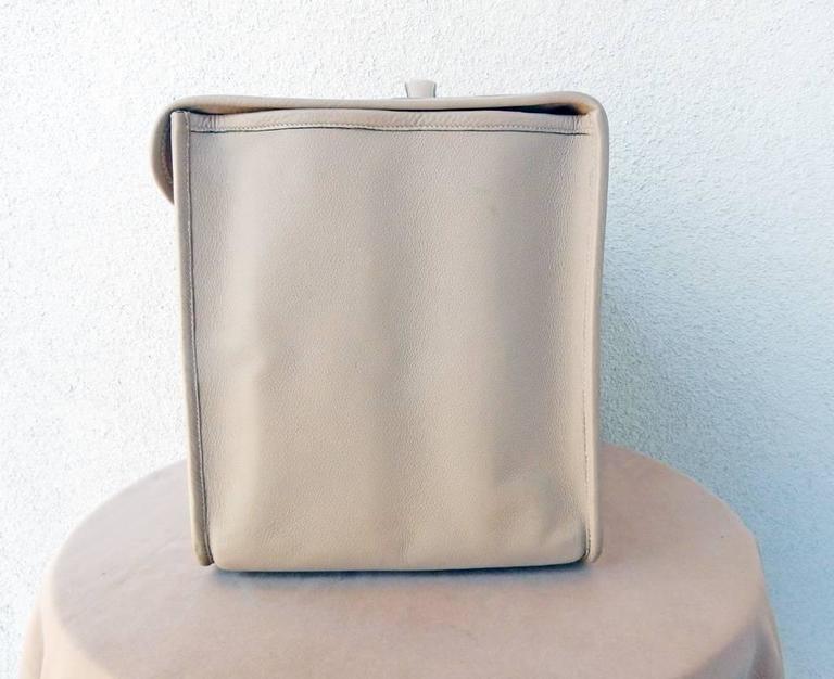 Hermes Custom Made-to-Order Shoe Travel Case Carrier Bag - Very Rare! For Sale 1