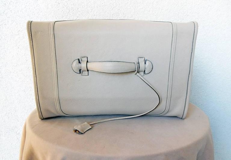 Hermes Custom Made-to-Order Shoe Travel Case Carrier Bag - Very Rare! For Sale 2