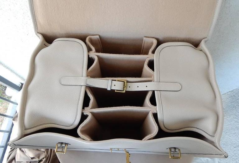 Hermes Custom Made-to-Order Shoe Travel Case Carrier Bag - Very Rare! For Sale 3