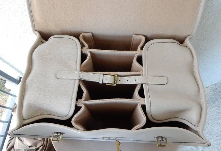 Hermes Custom Made-to-Order Shoe Travel Case Carrier Bag - Very Rare! For Sale 3