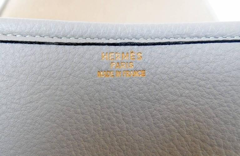 Hermes Custom Made-to-Order Shoe Travel Case Carrier Bag - Very Rare! For Sale 5