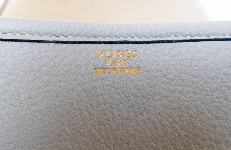 Hermes Custom Made-to-Order Shoe Travel Case Carrier Bag - Very Rare! For Sale 5