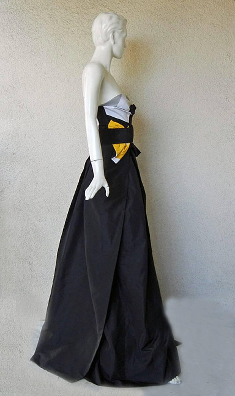 Gucci Origami Dress Gown w/Horsebit Belt  - Featured in Vogue! 5