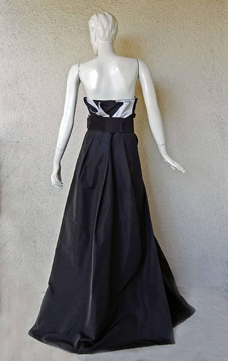 Gucci Origami Dress Gown w/Horsebit Belt  - Featured in Vogue! 6