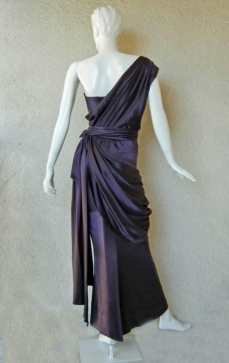 Yves Saint Laurent Haute Couture Red Carpet Runway Gown  4