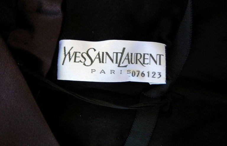 Yves Saint Laurent Haute Couture Red Carpet Runway Gown  5