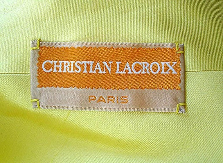 Women's or Men's Rare Christian Lacroix 1999 Haute Couture Runway Ensemble - Collectors For Sale
