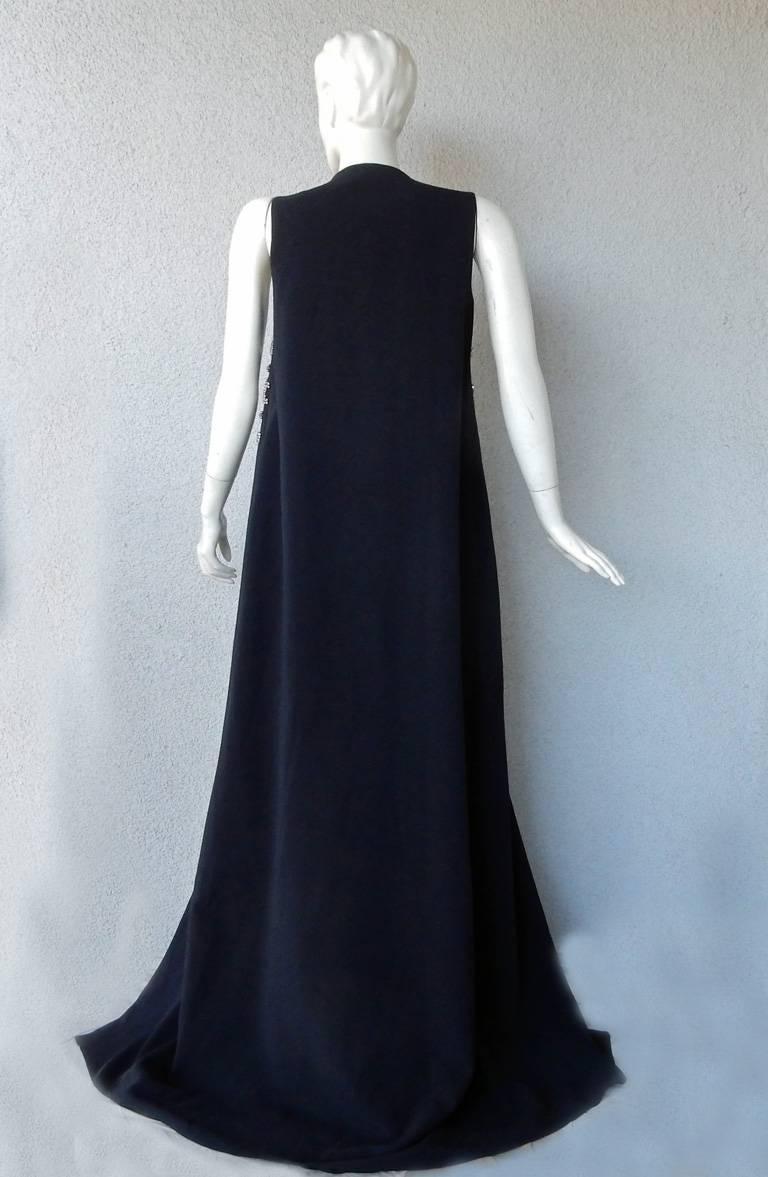"Women's Antonio Berardi Elegant Monastic Tabard Embellished ""Finale"" Gown  Red Carpet  For Sale"
