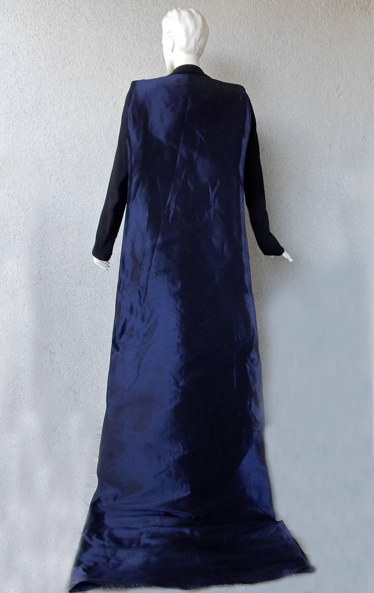 "Women's NWT Antonio Berardi ""Finale"" Jumpsuit with Dramatic Train Red Carpet Dressing For Sale"