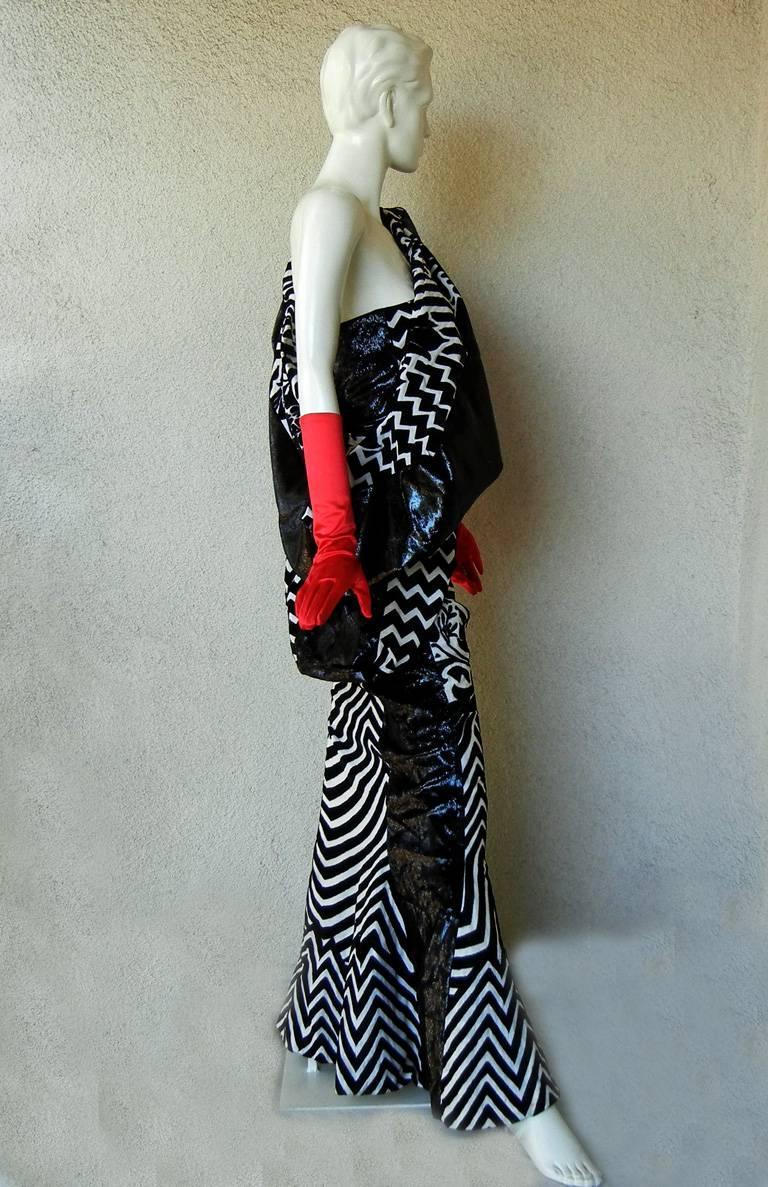 "Women's  Christian Dior by John Galliano Asian Kabuki ""Elvira"" Runway Gown - rare museum For Sale"