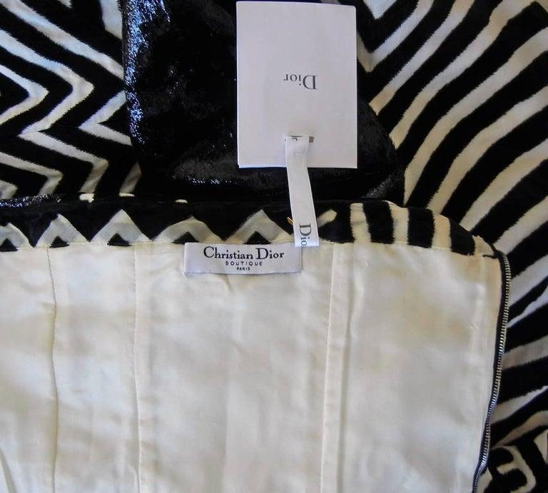 "Christian Dior by John Galliano Asian Kabuki ""Elvira"" Runway Gown - rare museum For Sale 3"
