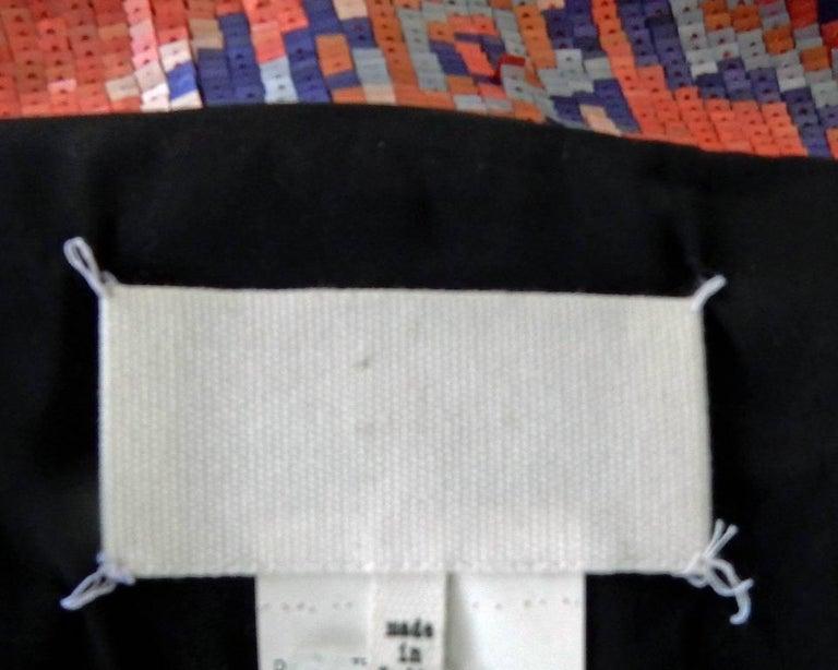 Maison Margiela Runway Tapestry Beaded Evening Skirt Gown For Sale 2