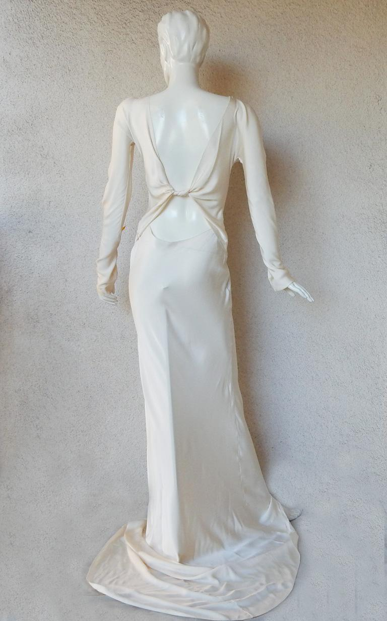 Gucci Tom Ford Sexy Siren Old Hollywood Glamour Gown Worn on Red Carpet  New! In New Condition For Sale In Los Angeles, CA