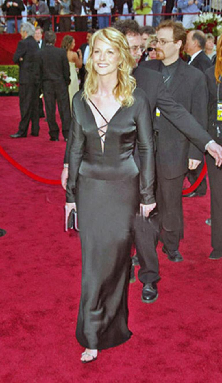 Gucci by Tom Ford 2002 Helen Hunt Dress Gown Worn on Red Carpet  New! In New Condition For Sale In Los Angeles, CA