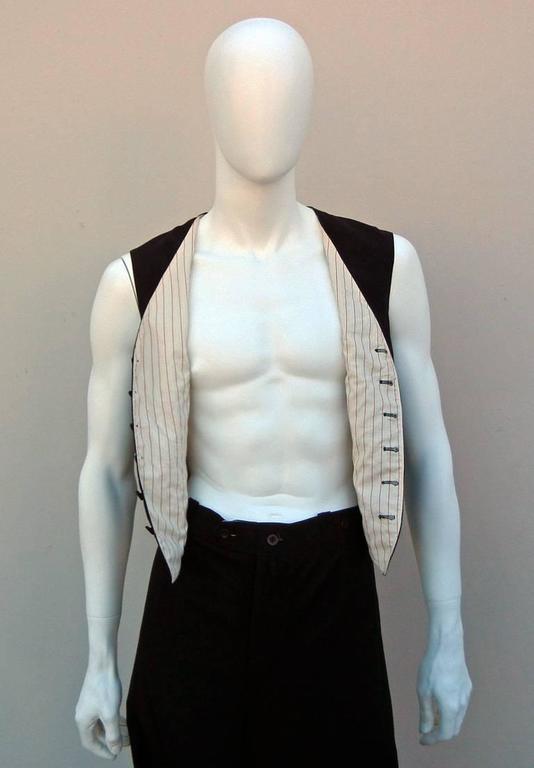 Jean Paul Gaultier Men's Skirt Suit - Single Sex Dressing For Sale 4