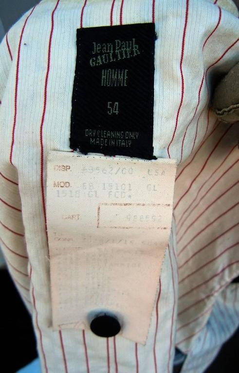 Jean Paul Gaultier Men's Skirt Suit - Single Sex Dressing For Sale 3