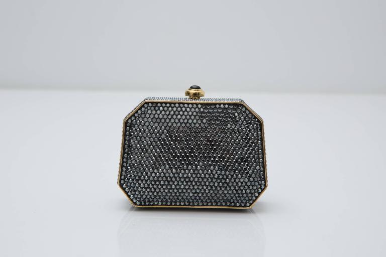 Judith Leiber Crystal Clutch With Gold Hardware 7